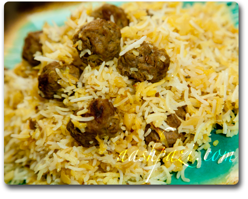 Kalam Polo, cabbage with rice recipe
