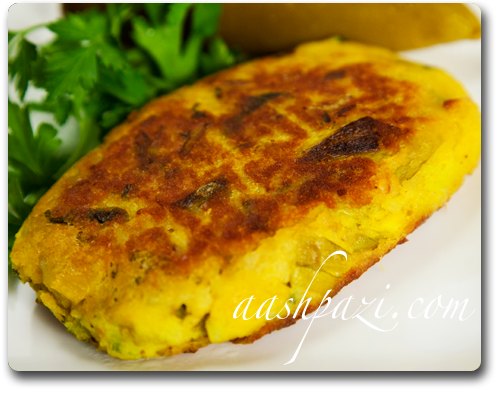 Leek Frittata or Leek Patties Recipe
