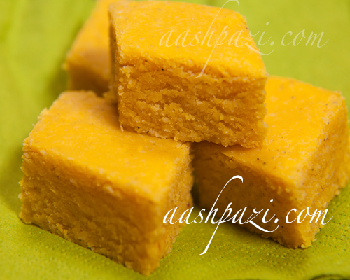 Loz (Persian Saffron and Almond Sweets) Recipe