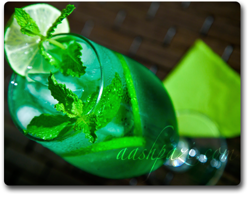 Mint Syrup, Sharbat e Sekanjebin recipes