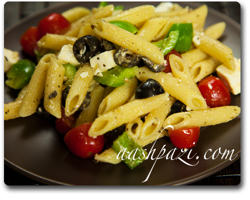 and vegetable salad penne and vegetable salad recipe dishmaps penne ...