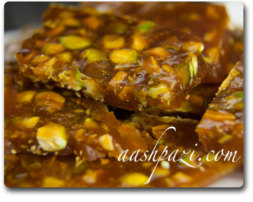 Saffron Toffee Candy Recipe & Calories