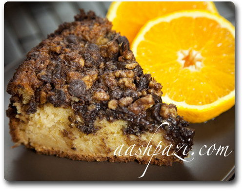 Streusel (Chocolate Orange) Recipe