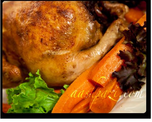 Stuffed Chicken Morgh E Shekam Por