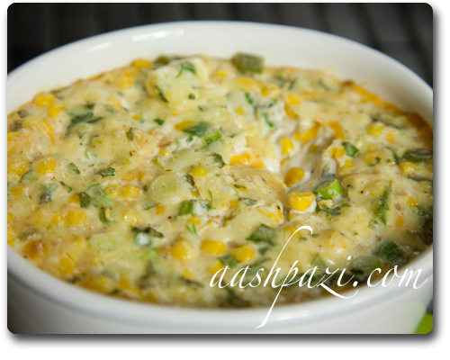 Sweet Corn Dip Recipe, Nutrition Value