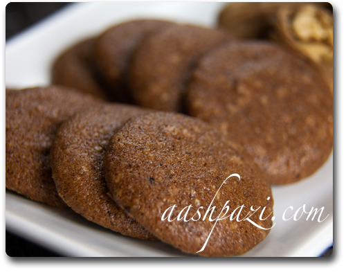 Walnut Chocolate Cookies (Sweets) Recipe