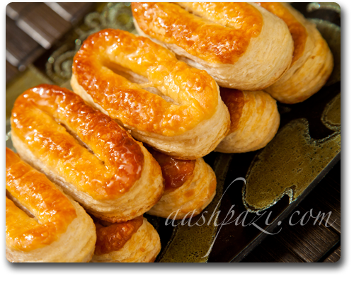 Zaban puff pastry recipe