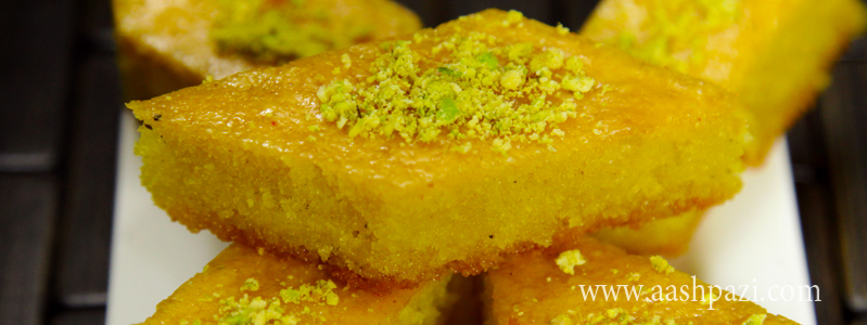 Baklava Cake, Baghlava Yazdi calories, nutritional values