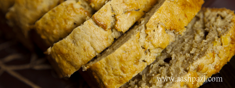 Banana Bread calories, nutritional values