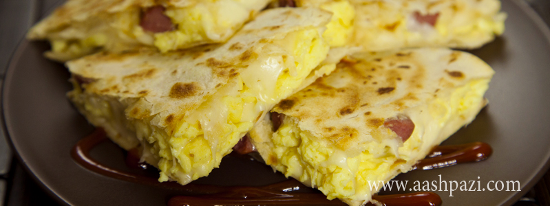 Breakfast Quesadilla calories, nutritional values