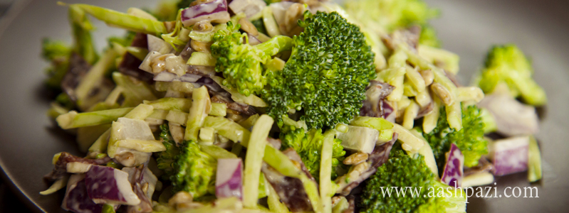 Broccoli Salad calories, nutritional values