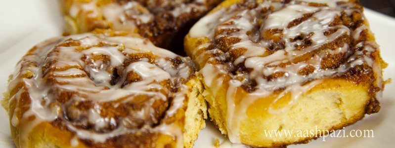 Cinnamon Roll calories, nutritional values