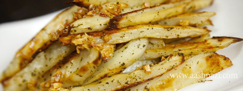garlic fries calories, nutritional values,
