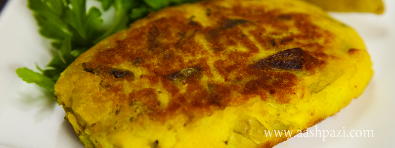 Leek Frittata or patties calories, nutritional values