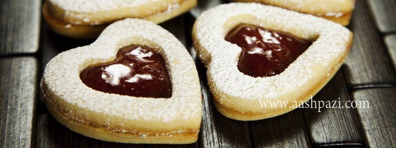 linzer cookies calories, nutritional values,