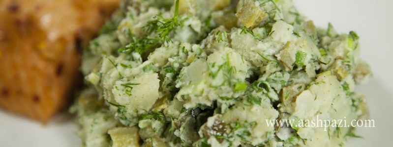 potato salad calories, nutritional values,