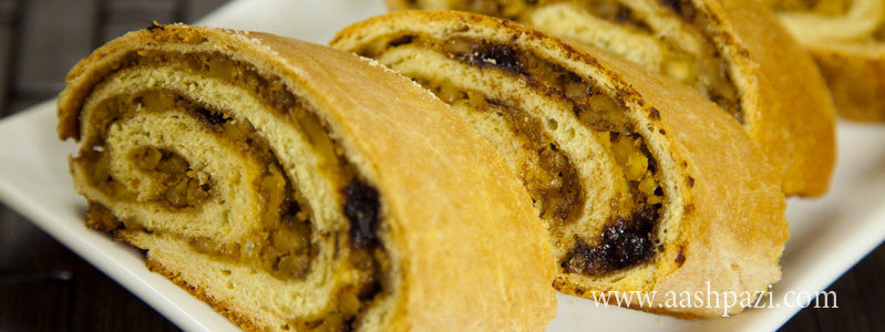 Potica (Nut Roll) calories, nutritional values,