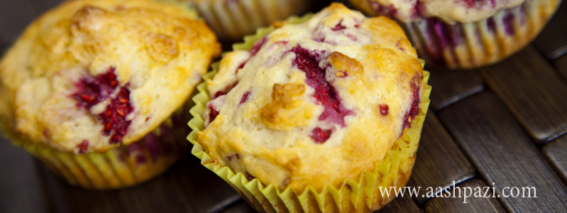 Raspberry muffins calories, nutritional values,