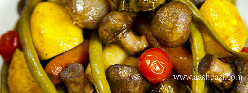 Roasted Veggies calories, nutritional values