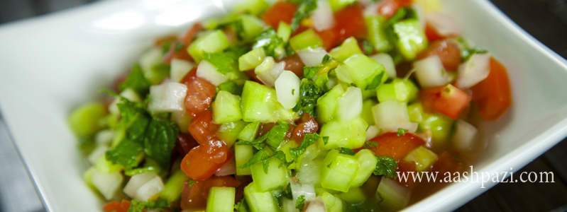 Salad Shirazi calories, nutritional values,