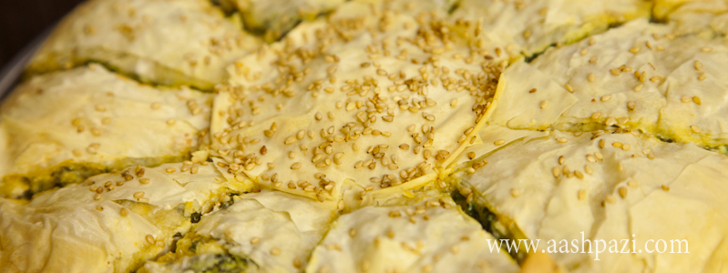 Spanakopita (Spinach Pie) calories, nutritional values,