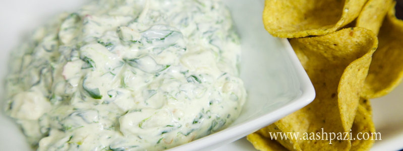 Spinach Dip calories, nutritional values,