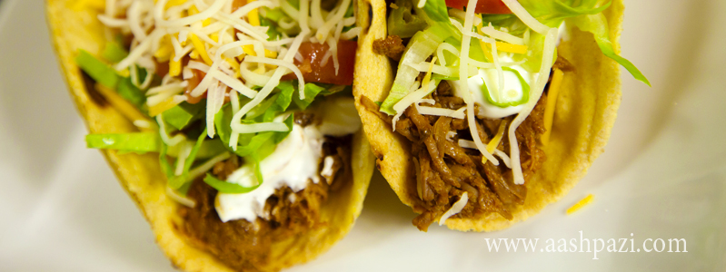 Beef Taco calories, nutritional values