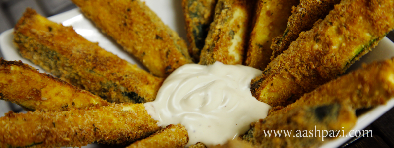 Zucchini Fries calories, nutritional values