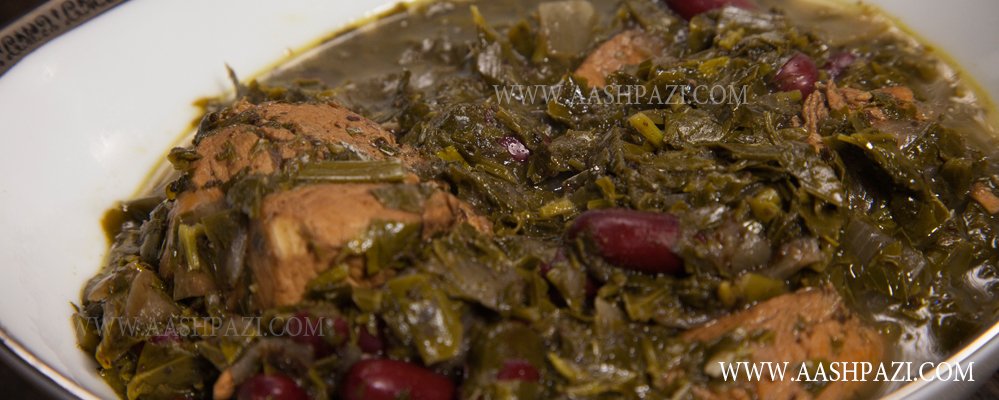 Khorsht e somakh or Sumac Stew also known as Sour Stew Recipe